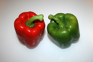 03 - Zutat Paprika / Ingredient bell pepper