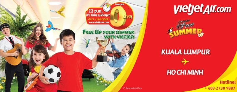 Free Up Your Summer With Vietjet