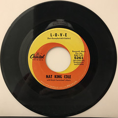 NAT KING COLE:I DON'T WANT TO SEE TOMORROW(RECORD SIDE-B)