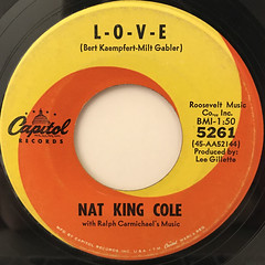 NAT KING COLE:I DON'T WANT TO SEE TOMORROW(LABEL SIDE-B)