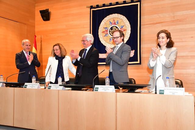 Ana María Pérez García, decana de la Facultad de Psicología (14/08/2018)