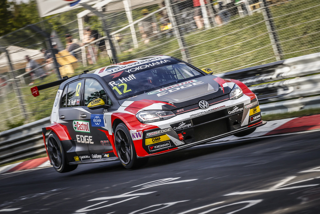12 HUFF Rob (GBR), Sebastien Loeb Racing, Volkswagen Golf GTI TCR, action during the 2018 FIA WTCR World Touring Car cup of Nurburgring, Nordschleife, Germany from May 10 to 12 - Photo Francois Flamand / DPPI