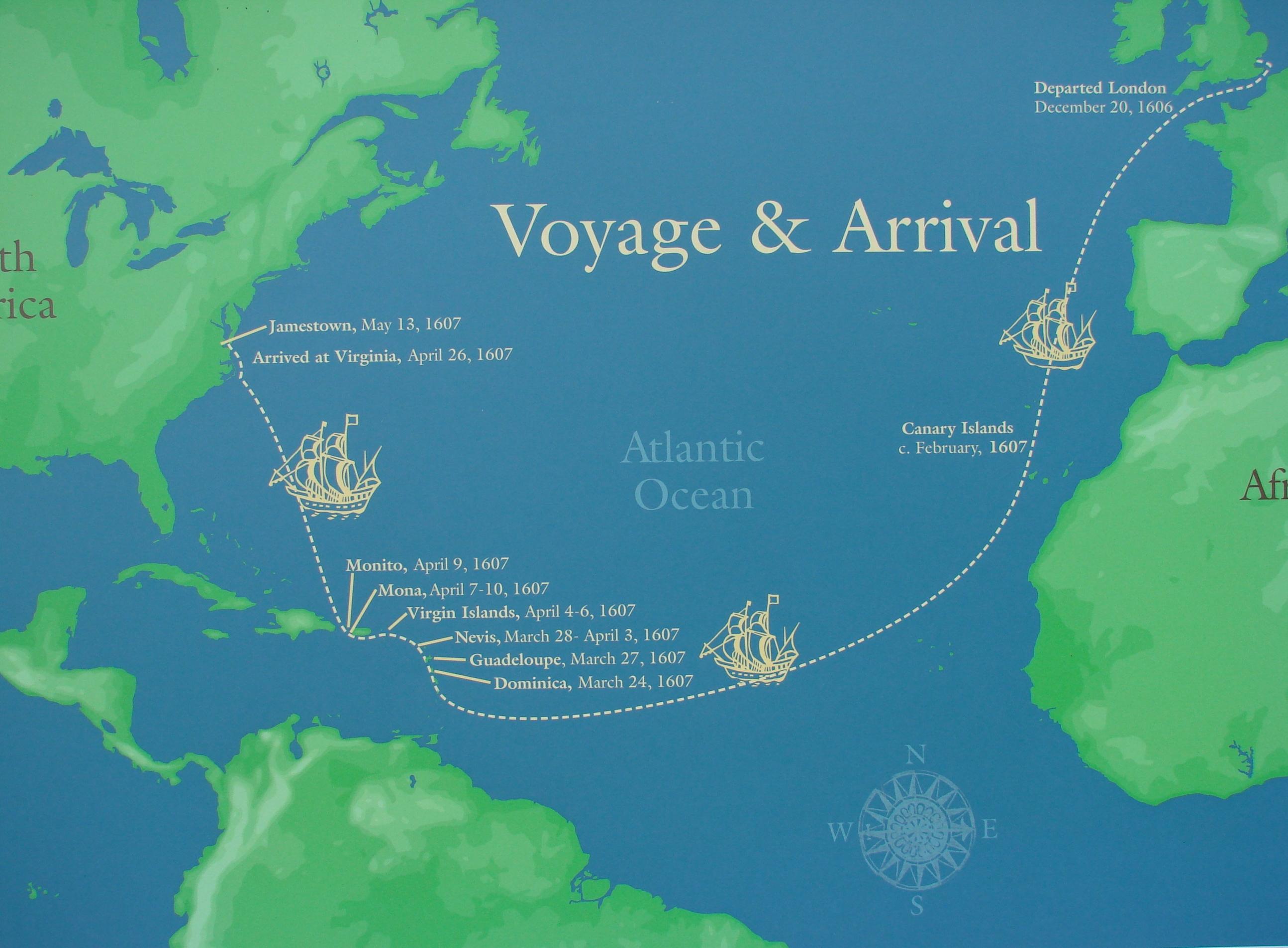 33 arrival of the english in virginia virtual jamestown - HD1600×956