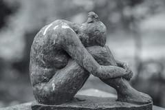 miniature sculpture of a nude girl