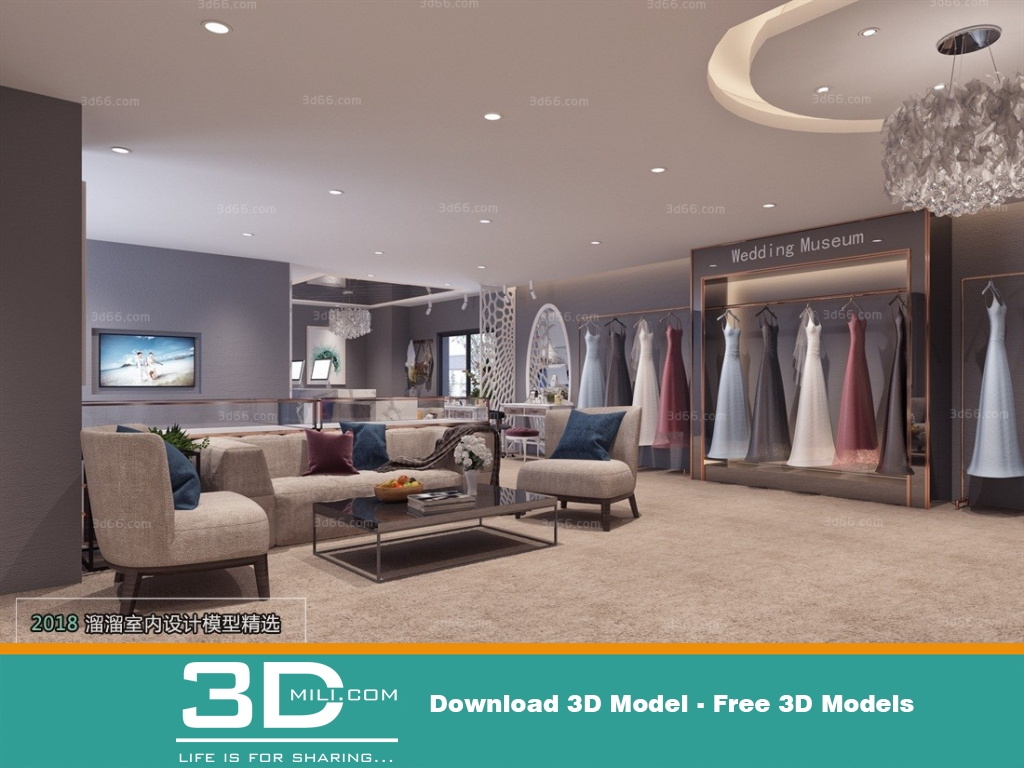 Museum 3d Model Free Download