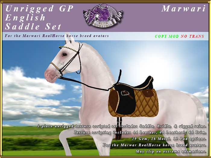 Unrigged Tack for the Elite Equestrian RealHorse