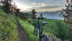 Riding the Ridge View Trail