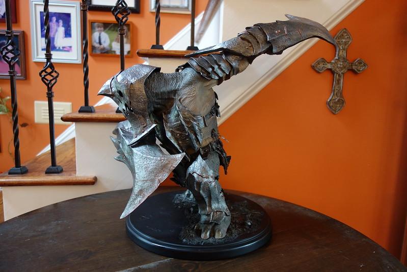 Repaint Of Weta Hobbit Botfa War Troll Statue Forum