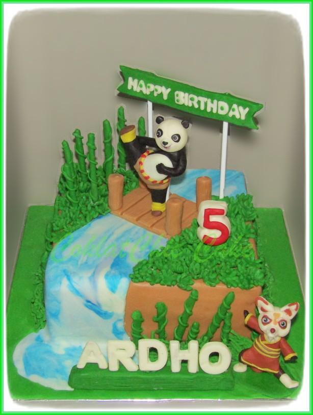 Cake Kungfu Panda ARDHO 15 cm