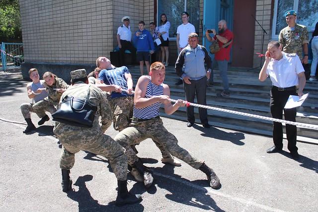 Переможці І (міського) етапу Всеукраїнської дитячо-юнацької військово-патріотичної гри «Сокіл» («Джура»)