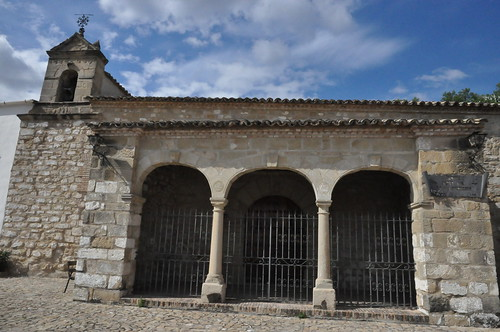 Canena (Jaén-España). Ermita de la Virgen de los Remedios. Pórtico
