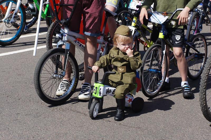 Велопробег в Марьино, День Победы