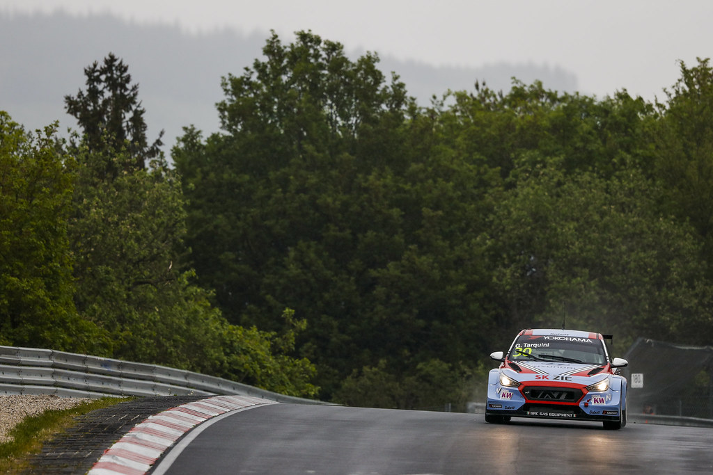 30 TARQUINI Gabriele (ITA), BRC Racing Team, Hyundai i30 N TCR, action during the 2018 FIA WTCR World Touring Car cup of Nurburgring, Germany from May 10 to 12 - Photo Florent Gooden / DPPI