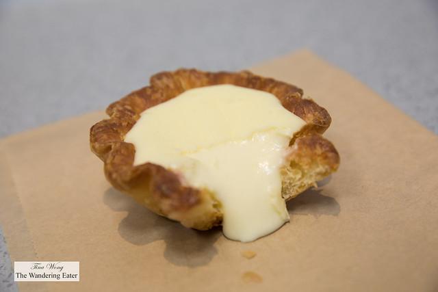 Bitten Wow Tart - interpretation of the Osaka Cheese Tart