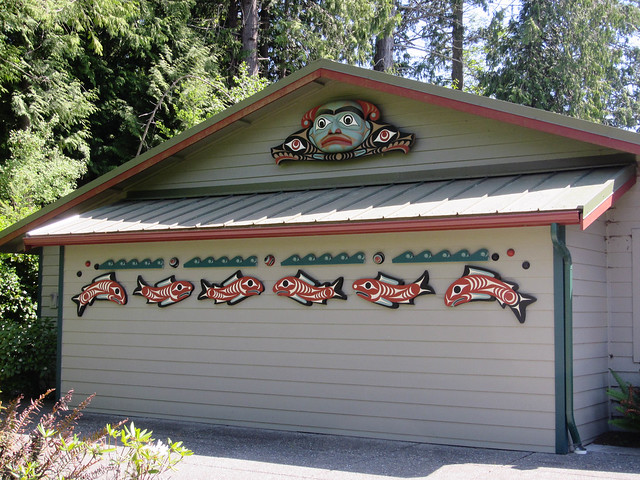 Beautiful Library in Blyn, on the S'Klallam Tribe reservation