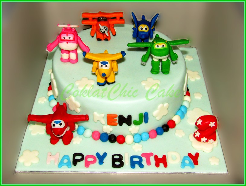 Cake Superwings KENJI 18 cm