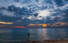 Sunset at Katathani Resort, Kata Noi beach, Phuket, Thailand   XOKA6500s