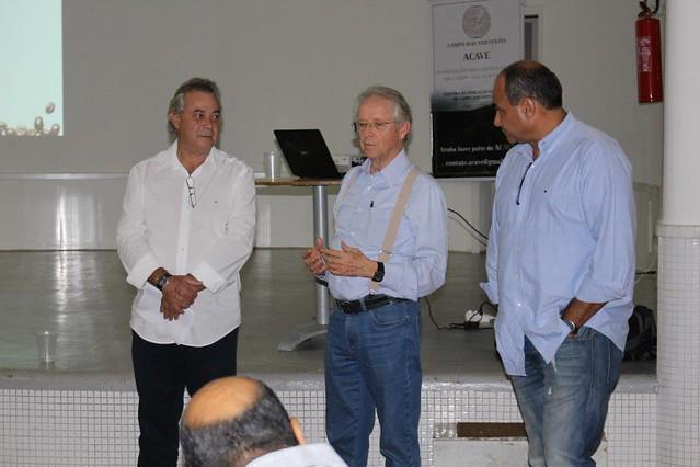 Presidente do CCCMG participa de palestra com membros da ACAVE em Oliveira (MG)
