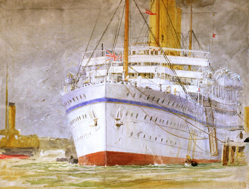 H.M.S. Medina troopship?