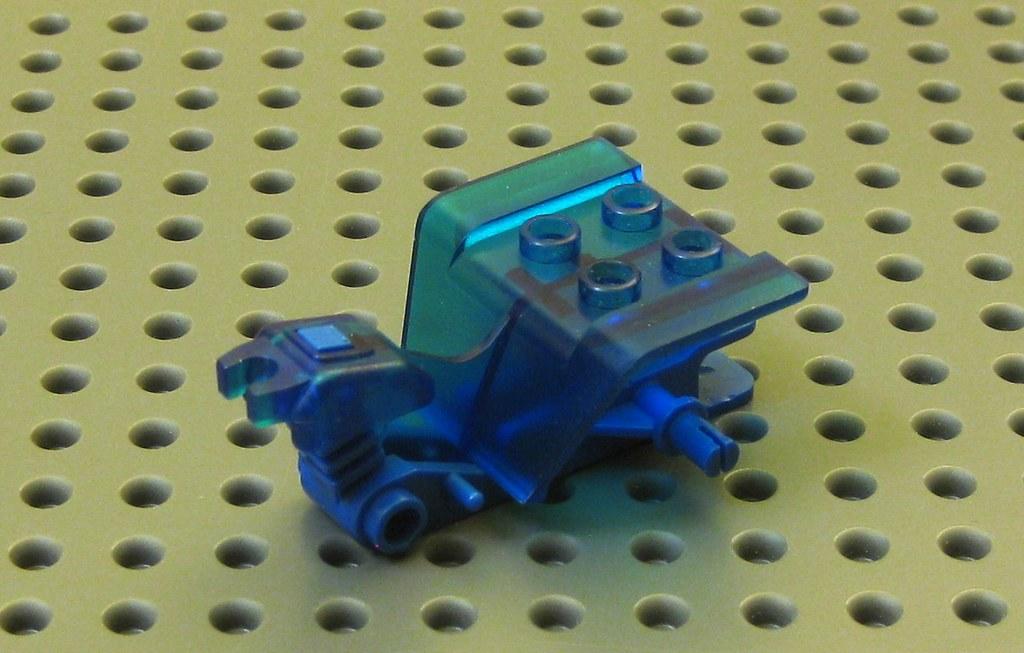 blue bike chassis