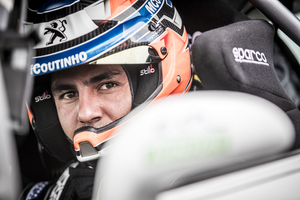 GAGO Diogo, RAMALHO Miguel, Peugeot 208 R2, portrait during the 2018 European Rally Championship ERC Rally Islas Canarias, El Corte Inglés,  from May 3 to 5, at Las Palmas, Spain - Photo Gregory Lenormand / DPPI