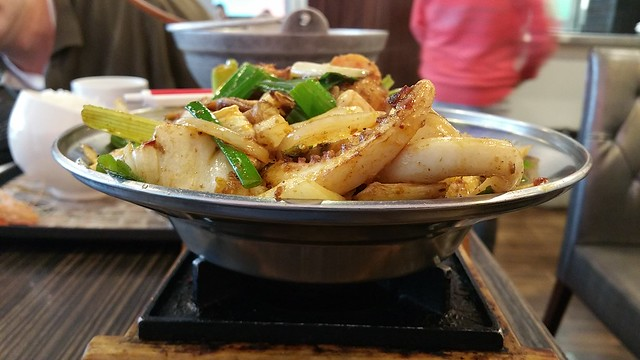2018-May-20 Pearl Castle Cafe (Metrotown) - Assorted Stir Fried Spicy Pot