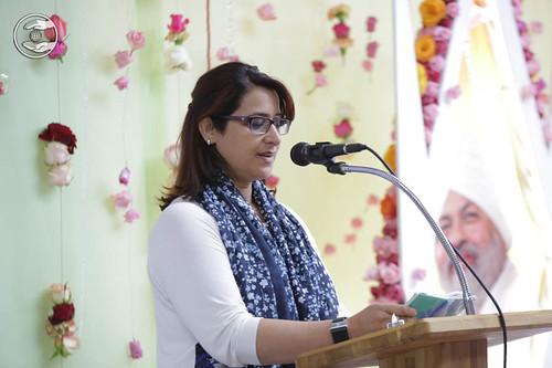 Devotee expresses her views