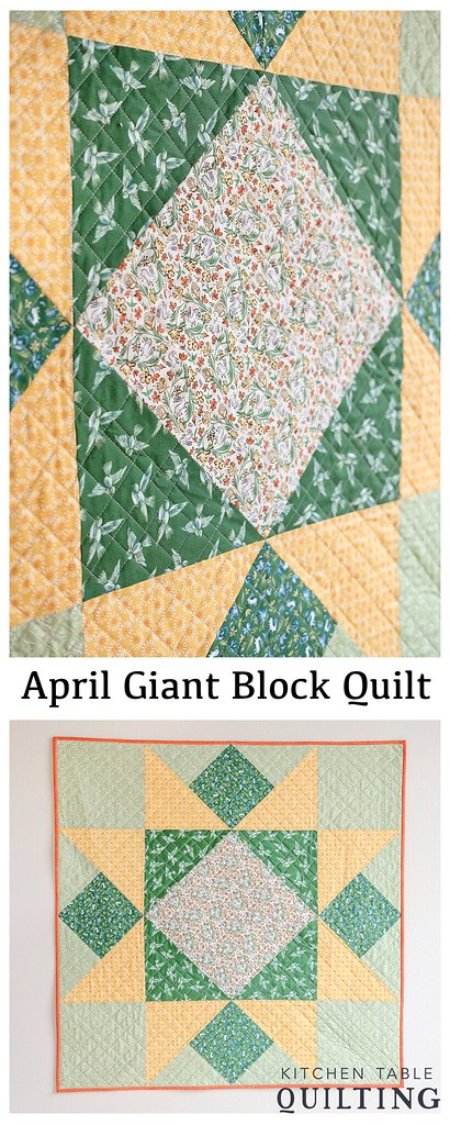 April Giant Block Vertical