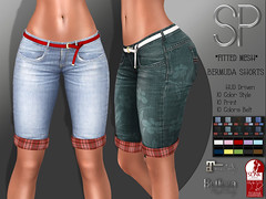 .:SP:. Oriana Bermuda Shorts