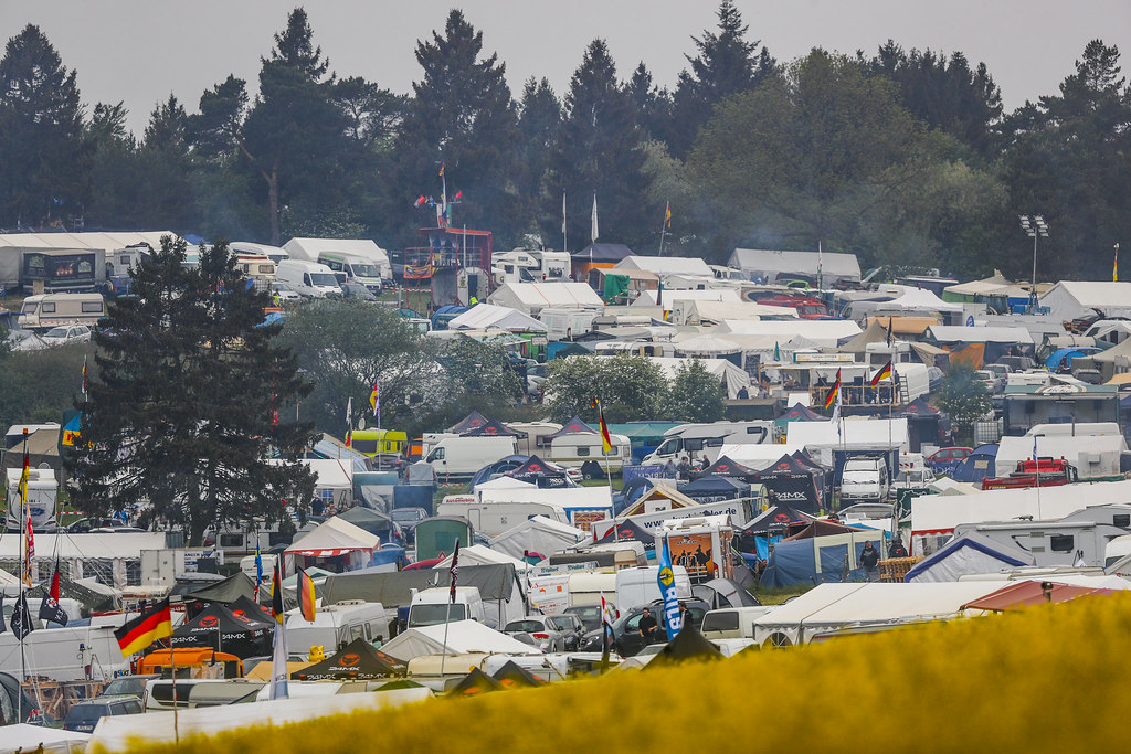 Fans campsite during the 2018 FIA WTCR World Touring Car cup of Nurburgring, Germany from May 10 to 12 - Photo Florent Gooden / DPPI