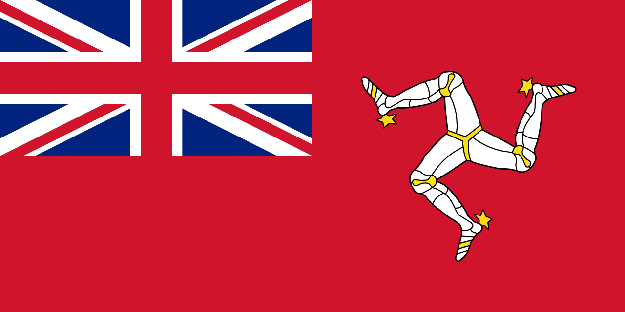 Red Ensign (Civil Ensign) of the Isle of Man
