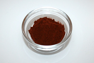 08 - Zutat Chipotle-Chilipulver / Ingredient chipotle chili powder