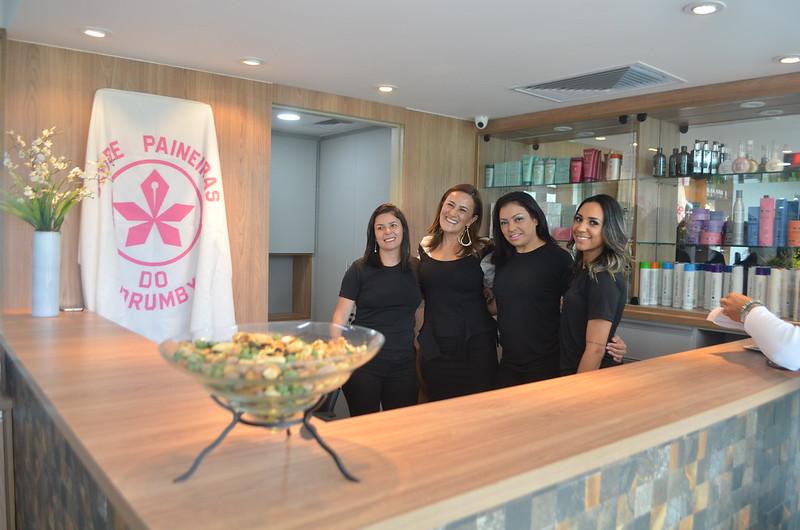 Reinauguração do Salão Feminino