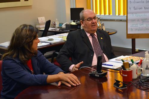 Reunião com o diretor de esportes de São Bernardo do Campo