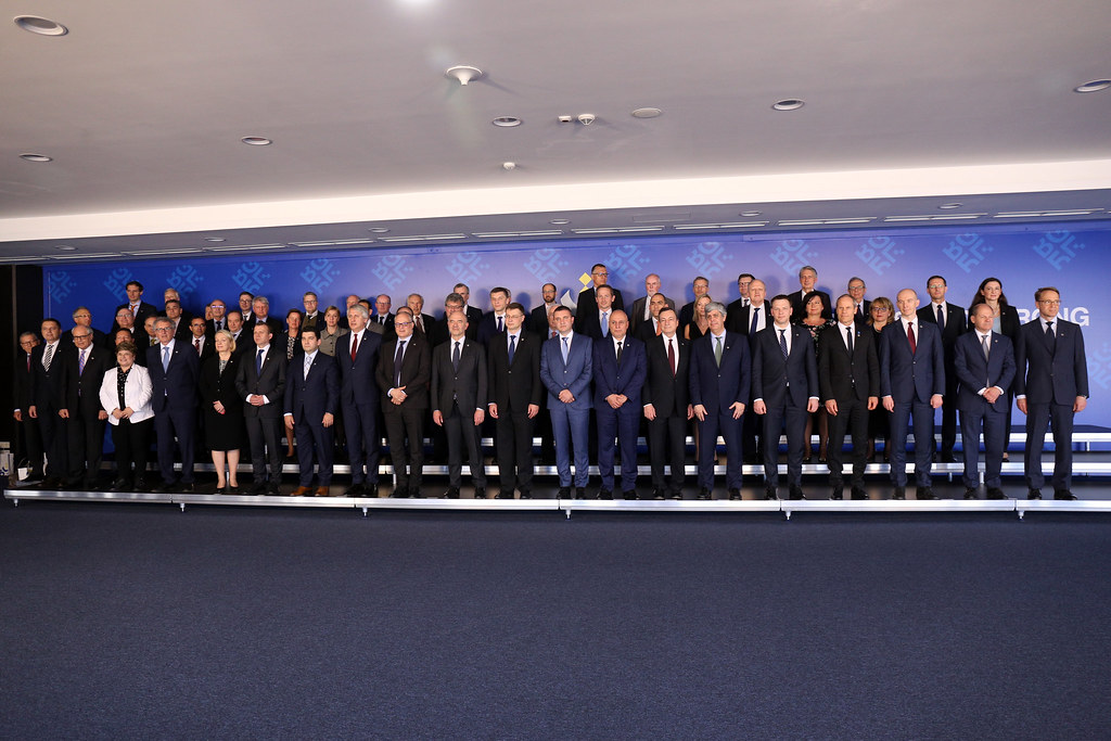 Informal meeting of economic and financial affairs ministers (ECOFIN): Family photo and Press conference