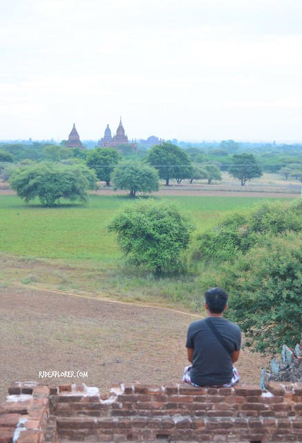 traveling alone bagan