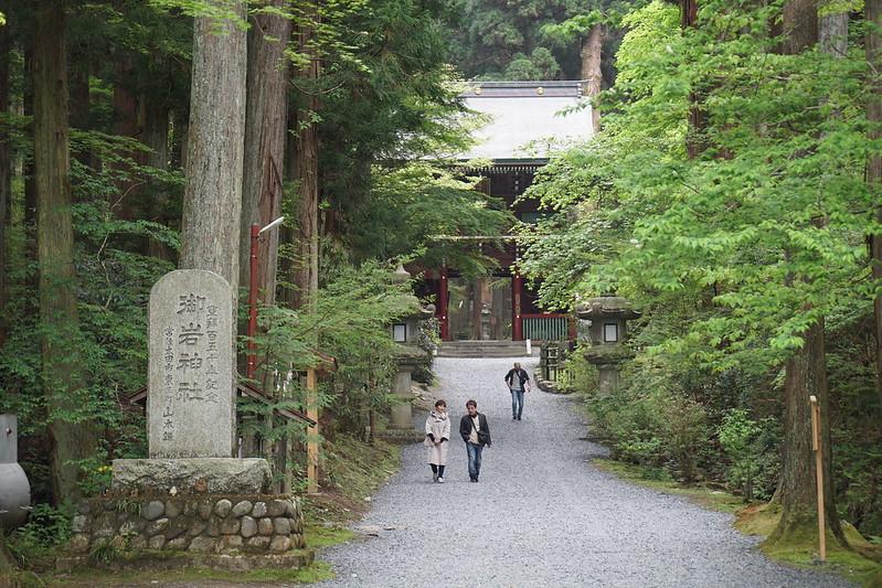 御岩神社 参道