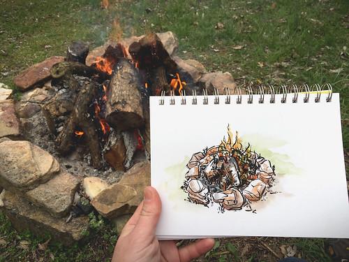 Cabin Camping - April 2018