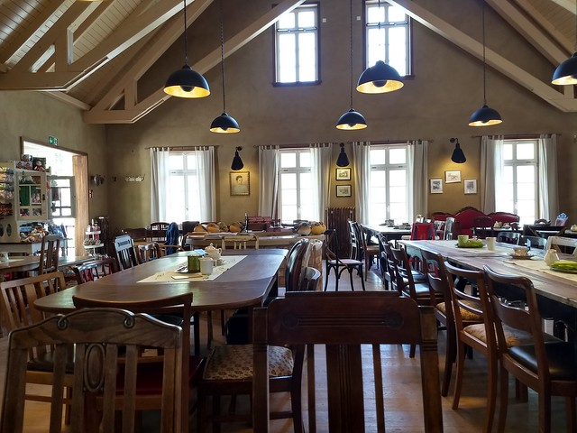 Barbycafé und Rittergut von Barby