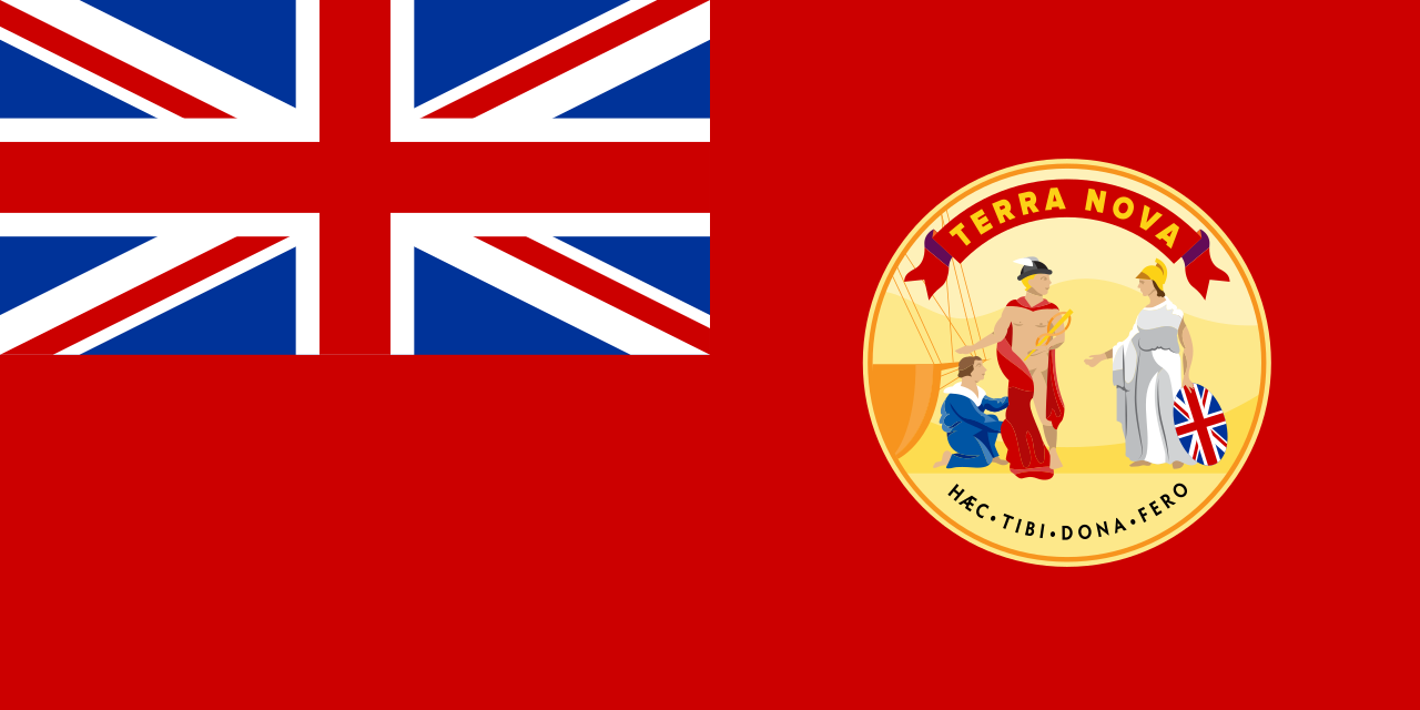 Dominion of Newfoundland Red Ensign