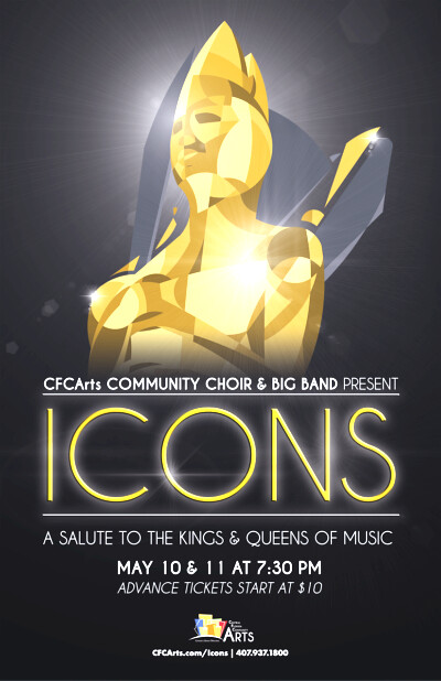 CFC Arts presents Icons: A Salute to the Kings and Queens of Music