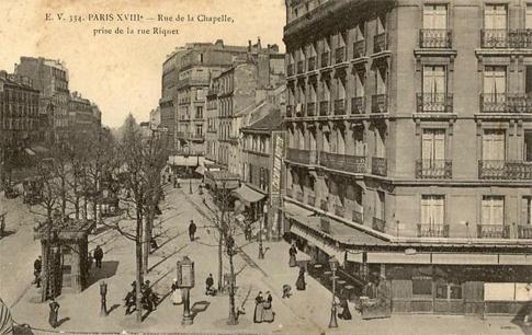 Paris_rue_de_la_Chapelle_rue_Riquet_1900
