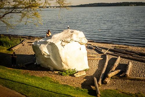 Eponymous White Rock