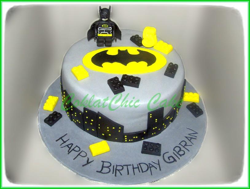 Cake Batman GIBRAN 20 cm