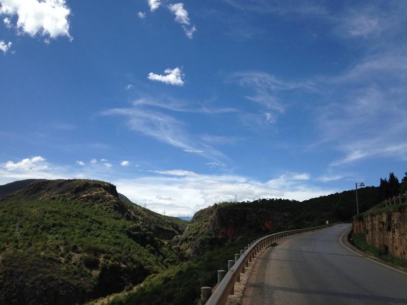 大理から省道221線を170キロ歩き麗江へ, 7
