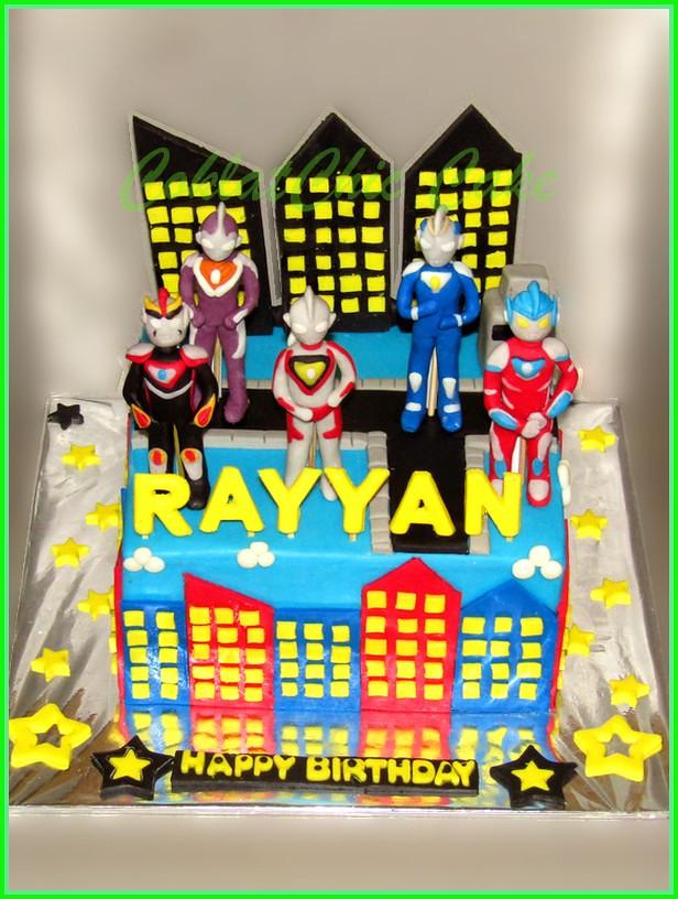 Cake Ultraman RAYYAN 15 cm