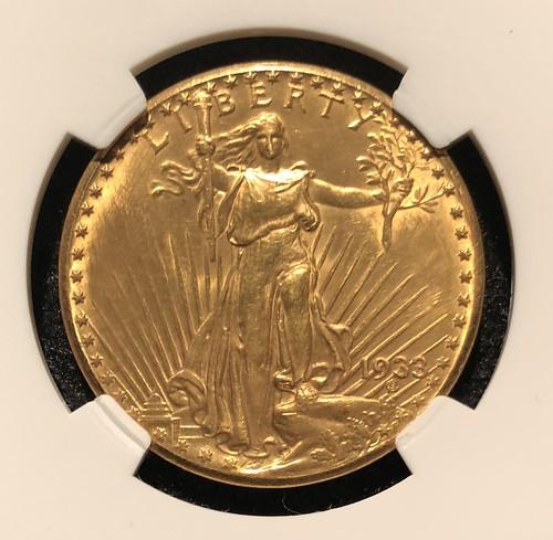 1933 Gold obv