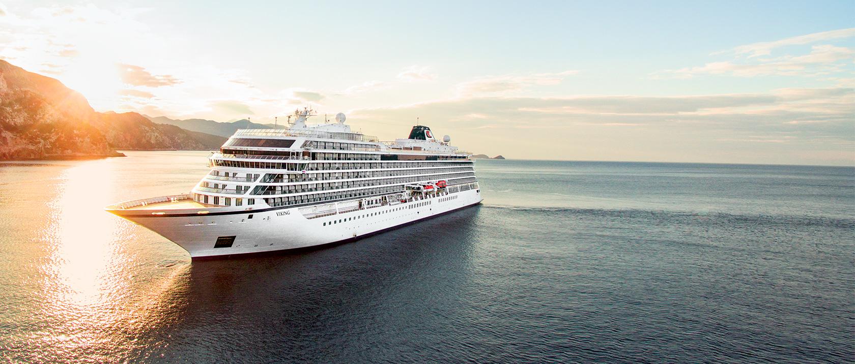 Navio que fará a maior viagem turística do mundo passará por Santarém; passagem é R$ 333 mil, Viking Sun