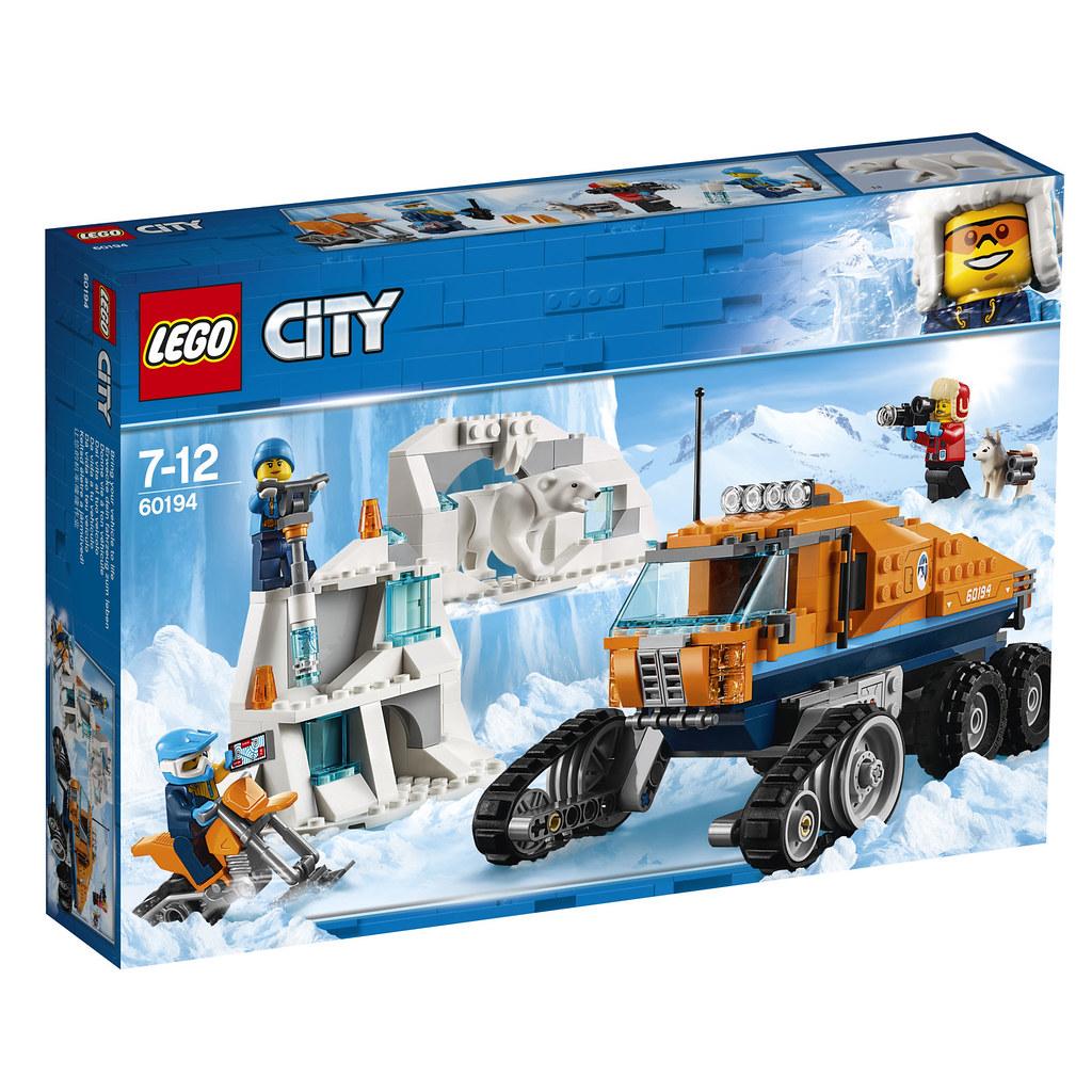 60194 City Arctic Scout Truck