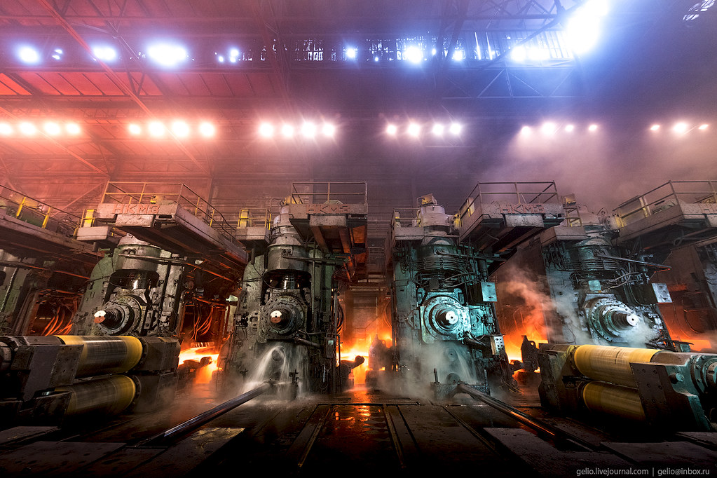Череповецкий металлургический комбинат, фото Gelio (Степанов Слава)